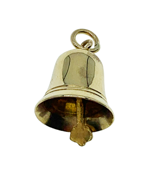 9ct Yellow Gold Bell Charm