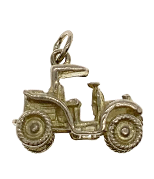 9ct Yellow Gold Old fashioned Car Charm