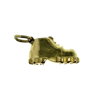 9ct Yellow Gold Boot Charm
