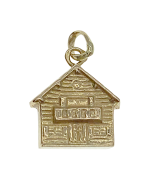 9ct Yellow Gold House Charm