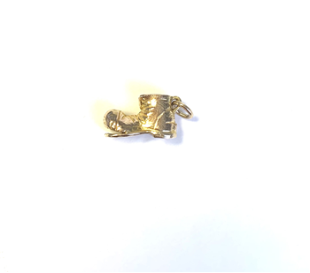 9ct Yellow Gold Old Boot Charm