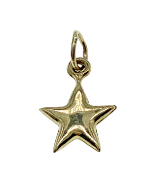 9ct Yellow Gold Star Charm