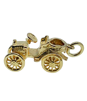 9ct Yellow Gold Classic Car Charm