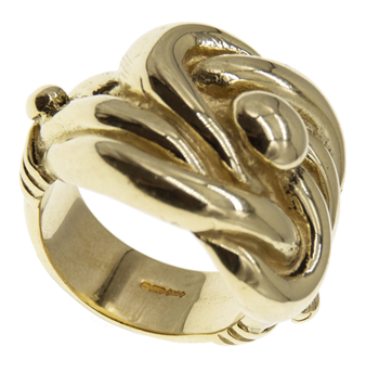 9ct Knot Ring