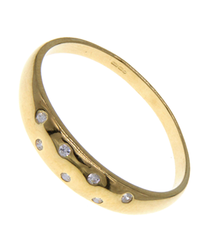 9ct Yellow Gold Dress Ring