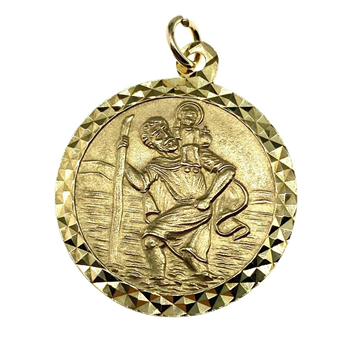9ct Yellow Gold St. Christopher