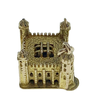 9ct Yellow Gold Tower of London Charm