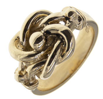 Gents Double Knot Ring