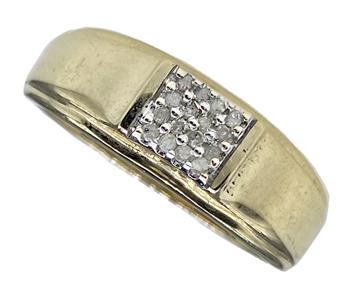 9ct Gold Gents Signet