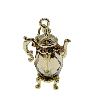 9ct Yellow Gold Teapot Charm