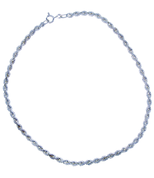 Sterling Silver 925 Child's Rope Chain