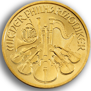 Tenth Oz Gold Philharmonika