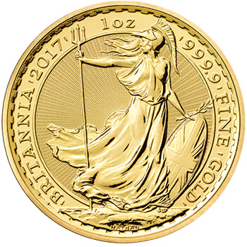 1oz Gold Britannia 24ct Version