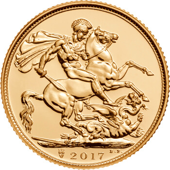 Gold Sovereign 2017