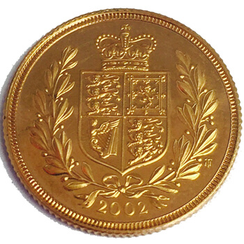 Gold Sovereign - 2002