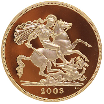 Gold Half Sovereign - Proof