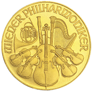 1oz Gold Philharmonika