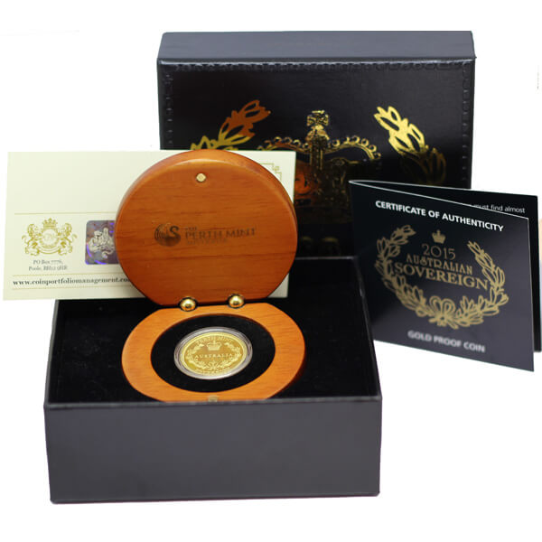Australia Gold Proof Sovereign
