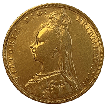 Gold Sovereign - Jubilee Victoria