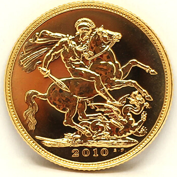 Gold Sovereign - 2010