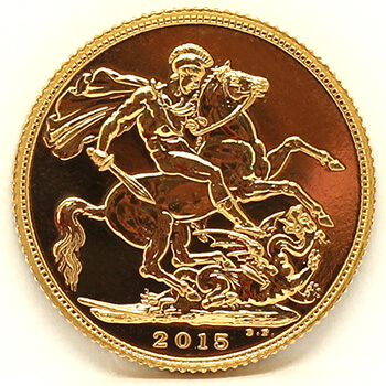 Gold Sovereign - 2015