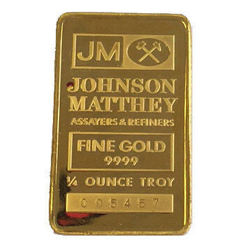 1/4 ounce Gold Bar