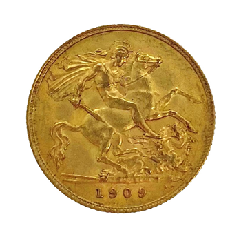 Half Sovereign - Edward VII 1909 London