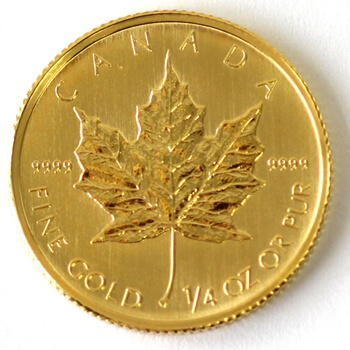 1/4oz Gold Maple Leaf