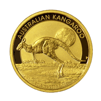 1oz Gold Kangaroo