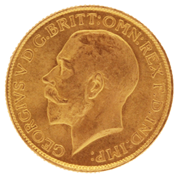 Gold Sovereign - George V