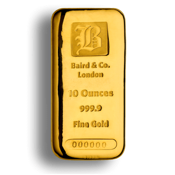 10 OUNCE GOLD BAR