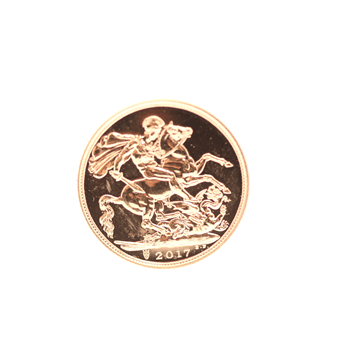 Gold Half Sovereign 2019